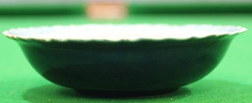 外霁蓝内青花瓷碗