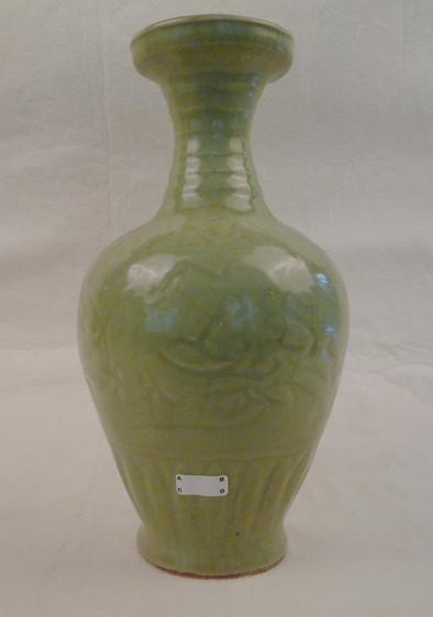 龙泉窑盘口瓶